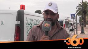 Cover_Vidéo: مهنيو سيارات الاسعاف ونقل الأموات يحتجون بمراكش