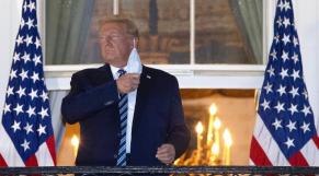 Donald Trump - Coronavirus - masque