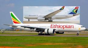 Ethiopian Airlines appelée à la rescousse pour sauver South African Airways de la faillite
