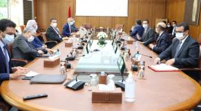 Lors de la réunion du Comité de veille économique, lundi 5 octobre 2020
