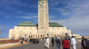 Prière du vendredi à la mosquée Hassan II
