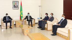 Le patron de l'organisation du fleuve Sénégal chez le Premier ministre mauritanien