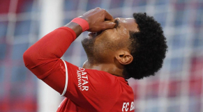 Serge Gnabry, attaquant du Bayern Munich.