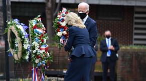 Joe et Jill Biden - Philadelphie - 11-Novembre