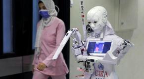 Le robot égyptien Cira 3