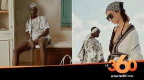 Cover la collection pyjama de Dior