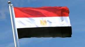 Drapeau de l'Egypte