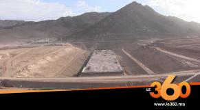 Cover_Vidéo: شاهد وثيرة تشييد أكبر سد على الصعيد الوطني بكلميم