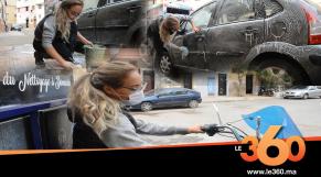 """cover vidéo :Le360.ma •لمياء.. """"إمرأة مُكافحة"""" تُحارب البطالة بغسيل السيارات"""