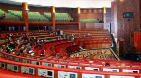 Chambre des conseillers - Hémicycle - Parlement