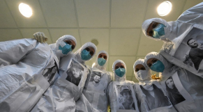 Coronavirus - Hôpital - Florence