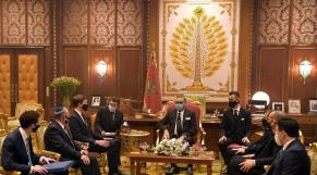 Roi Mohammed VI - Audience - Jared Kushner - Meir Ben-Shabbat - Avrahm Joel Berkowitz