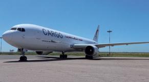 Un avion Cargo de Royal Air Maroc