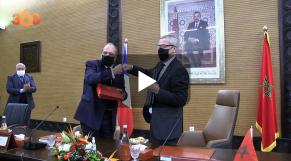 Cover: Mineurs non accompagnés: signature d'un accord entre le Maroc et la France