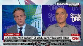 Dr Moncef Slaoui - CNN - dimanche 20 décembre 2020
