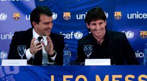 Messi et Laporta