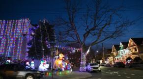 Illuminations de Noël à New York