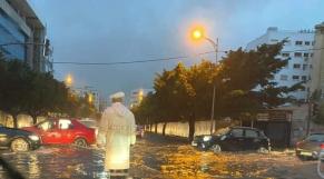 Casablanca - pluies torrentielles