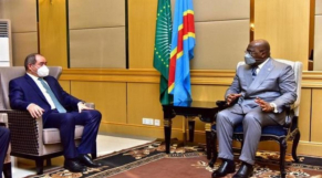 Félix-Antoine Tshisekedi et Boukadoum