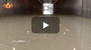 "Cover Vidéo - اختناق مروري كبير بعد إغلاق نفق ""الزرقطوني"""