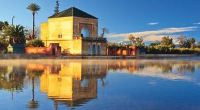 Jardin de la Menara - Marrakech - Météo