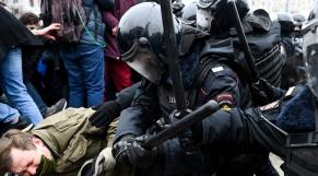 Manifestations pro-Navalny - Russie - Police - Manifestants