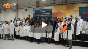 Cover: Inauguration de l'usine Nexans
