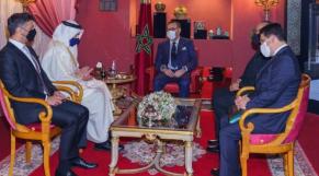 Le roi Mohammed VI et le ministre émirati des Affaires étrangères