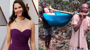 Ashley Judd au Congo