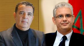 Chakib Alj et Nizar Baraka
