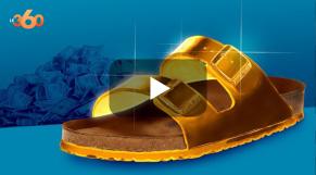 cover: Aussi ringarde que cool, la sandale Birkenstock fait son entrée dans le luxe