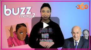 """Cover : Buzz Mag. S2 : فاجعة طنجة/مسلسل اختفاء تبون""""/ أمريكية تضع الغراء على شعرها"""