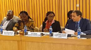 Lors d'une précédente réunion de la Commission économique pour l'Afrique des Nations Unies (CEA-ONU)