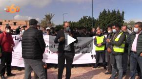 Cover : خوفا من الإفلاس... مهنيو النقل السياحي يعودون للاحتجاج