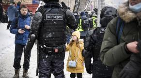 Moscou - Manifestation - Navalny