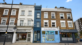 Londres - La plus étroite maison -