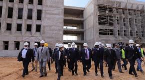 Faculté de médecine de Laâyoune - Visite Saaïd Amzazi