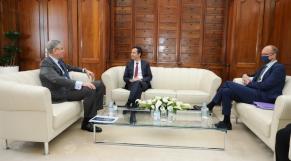 Farid Belhaj et Mohamed Benchaaboun