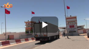 Cover Vidéo -  من الكركرات.. سائقون مهنيون يثنون على البنيات التحتية التي بات يتوفر عليها المعبر