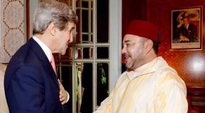 Mohammed VI et John Kerry