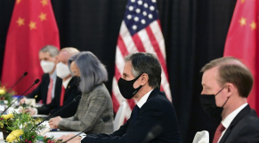 Etats-Unis-Chine - Alaska - Rencontre Equipe Biden - Pékin