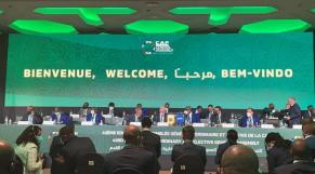 43e Assemblée générale de la CAF, le 12 mars 2021 à Rabat.