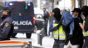 Arrestation Espagne