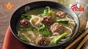 Cover : à l'heure du ftour ep4 : Soupe de boulettes chinoises aux nouilles