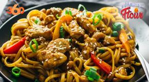 Cover : à l'heure du ftour ep5 : Poêlée de nouilles chinoises aux légumes