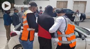 Cover : أمن طنجة يعيد تمثيل جريمة السطو على وكالة بنكية
