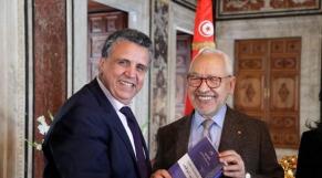 Abdellatif Ouahbi PAM - Rached Ghannouchi président Parlement tunisien Ennahda