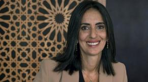 Nadia Fattah Alaoui, ministre du Tourisme, de l'artisanat, du transport aérien et de l'économie sociale.