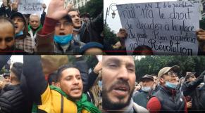 """Vidéos. 114e mardi du Hirak algérien: """"les généraux à la poubelle"""", scande la foule"""