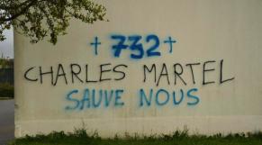 Mosquée de Rennes - Tags racistes - France -